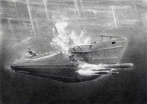 海大VI型 a 潜水艦 伊 168